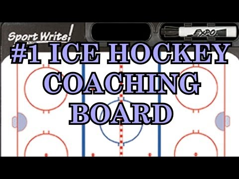 Ice Hockey Dry Erase Board