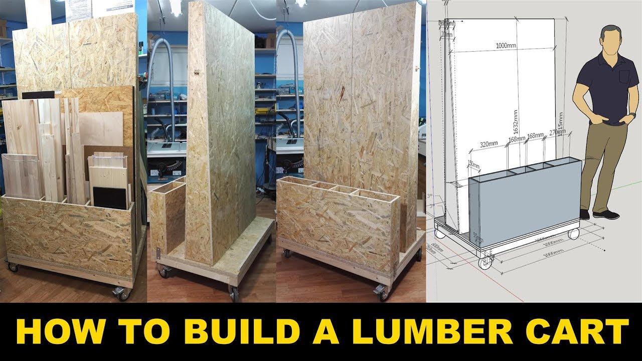 Build A Lumber Storage Cart Get Your Workshop Organized