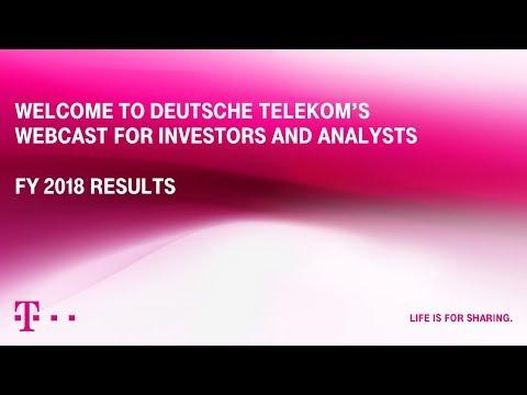 Social Media Post: Deutsche Telekom's FY-2018 investor conference call