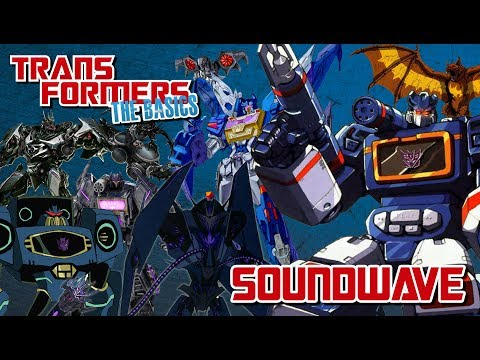 TRANSFORMERS: THE BASICS on SOUNDWAVE