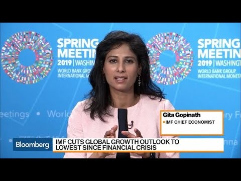 IMF's Global Growth Outlook Cut to Lowest Since Financial Crisis