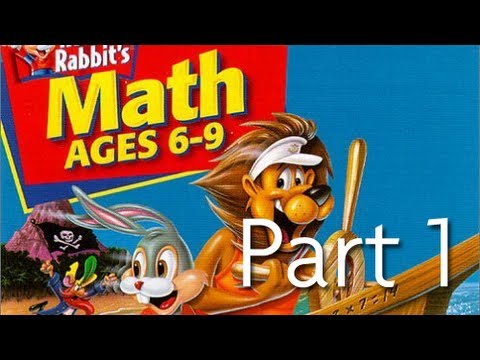 Let's play reader rabbit's math 6-9! (1) youtube.