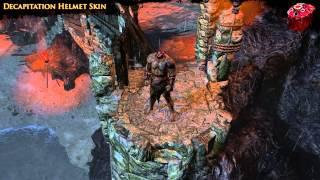 Path of Exile - Decapitation Helmet Skin
