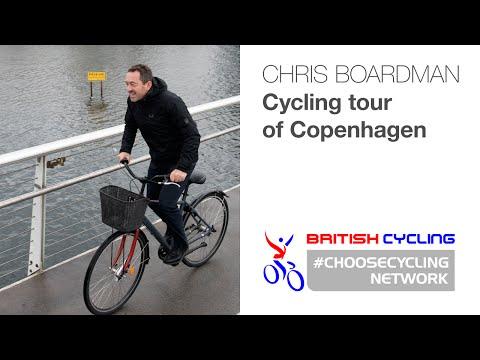 Chris Boardman takes a cycling tour of Copenhagen