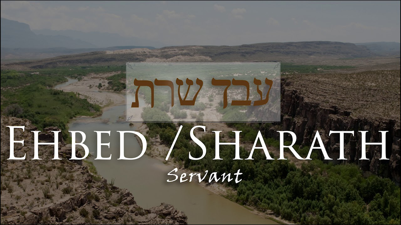 The Mystery in Ehbed and Sharath: The Hebrew Words for Servant
