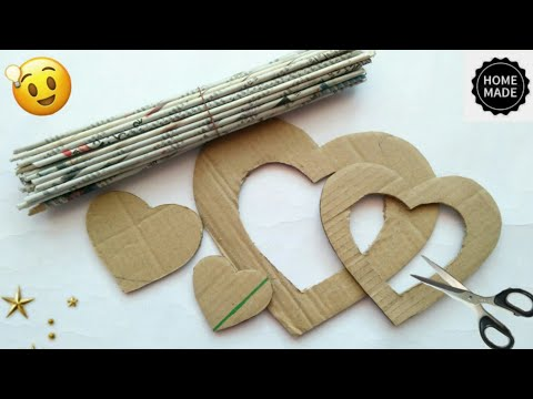 Best out of waste craft ideas | Newspaper craft ideas | best use of old newspaper | #HMA461