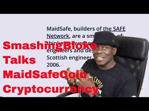 SmashingBloke Talks MaidSafeCoin Cryptocurrency