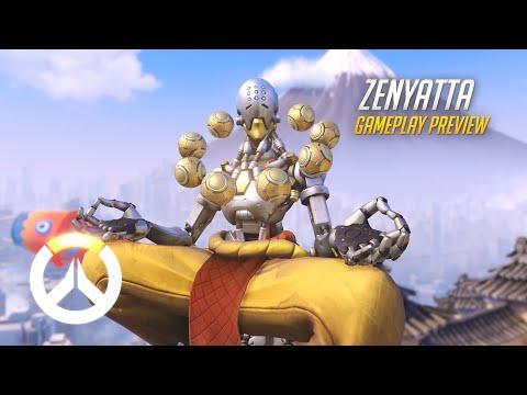 Zenyatta Gameplay Preview | Overwatch | 1080p HD, 60 FPS