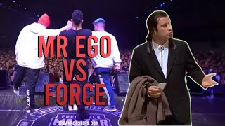 REPLICA INNECESARIA - FORCE vs MR EGO (ANALISIS FMS)