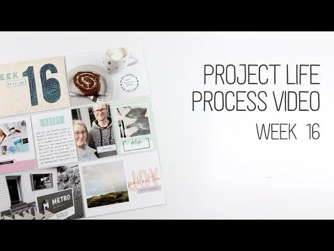 Project Life Process // Week 16 // Create a cut out title by hand