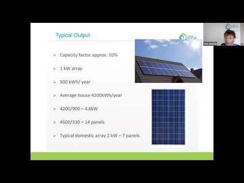 Solar PV panels for homeowners webinar - 27th May 2020