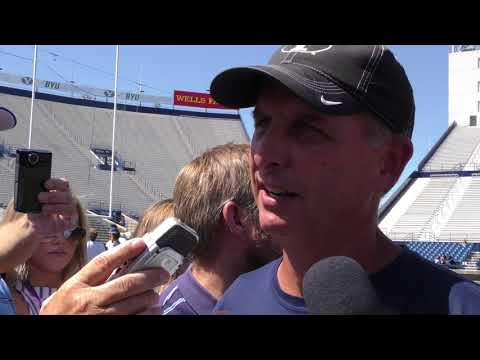 2017 BYU football: Offensive coordinator Ty Detmer on Aug. 17 of fall camp