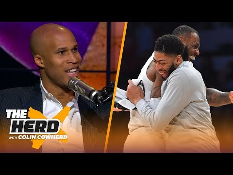 Richard Jefferson believes AD-LeBron would fit together, calls Pelicans 'reckless'    NBA   THE HERD