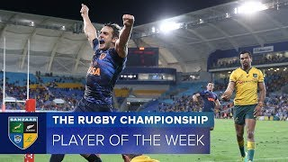 PLAYER OF THE WEEK: 2018 Rugby Championship Round 4