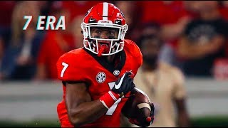 The Next Great RB in College Football || D'Andre Swift 2018 Georgia Highlights Video