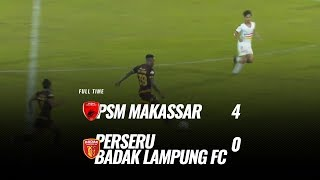 Download Video [Pekan 2] Cuplikan Pertandingan PSM Makassar vs Perseru Badak Lampung FC, 24 Mei 2019 MP3 3GP MP4