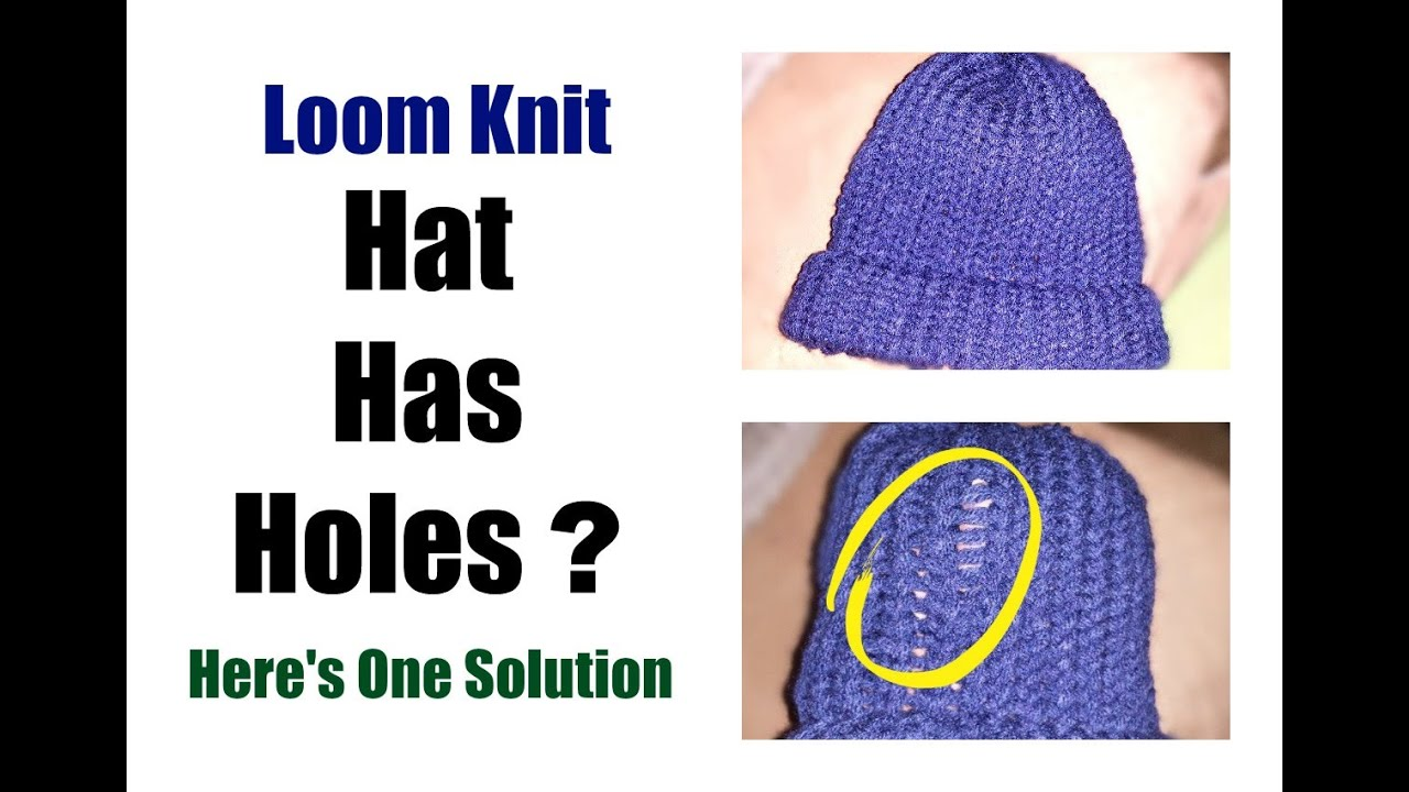 Snap Loom Knit Hat The Bamboo Stitch Beanie Loomahat Youtube Photos