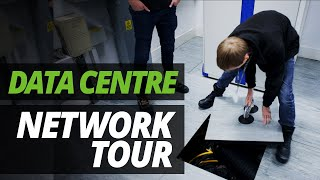 A DAY in the LIFE of the DATA CENTRE | NETWORK TOUR with ASH & JAMES!