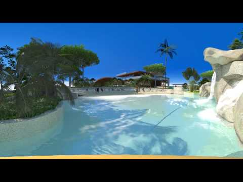 Beach Club Resort VR360, cgi by wamb