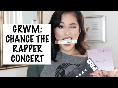 Grwm Chance The Rapper Concert Makeup Youtube