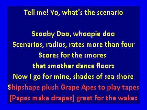 A Tribe Called Quest  -  Scenario (karaoke)