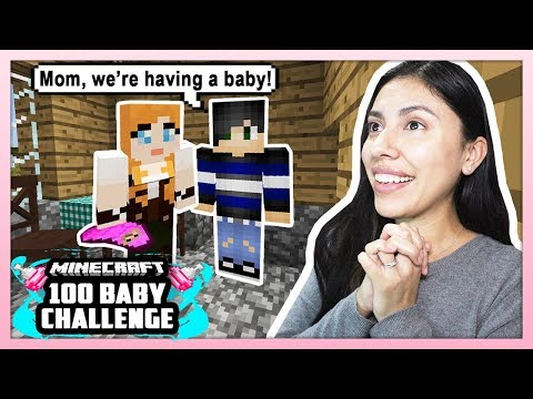 MY SON IS HAVING A BABY! - Minecraft: 100 Baby Challenge - EP 17