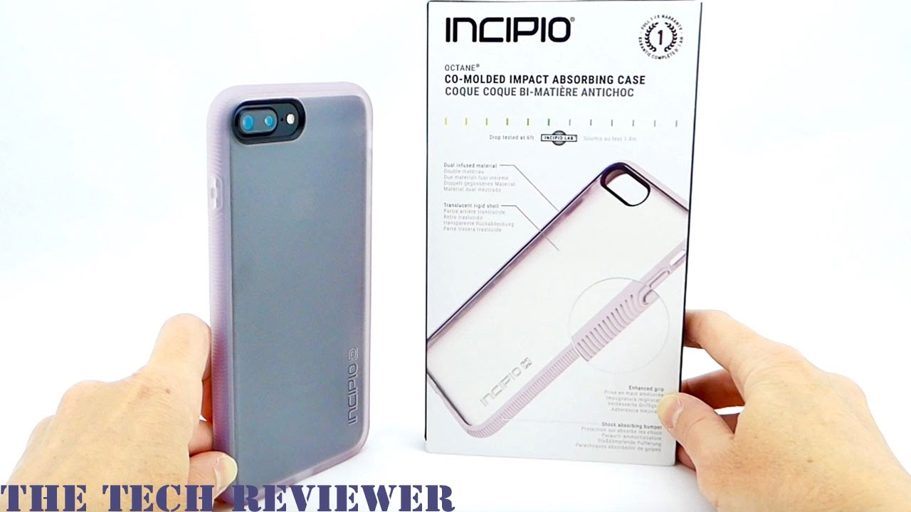 online retailer 9c563 4a7fb Grippy, Attractive, and Drop Protective to 6 Feet: Incipio Octane for  iPhone 7 Plus