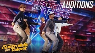 QUIRKY Dance Crew with a TWIST | Auditions | Australia's Got Talent