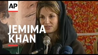 PAKISTAN: JEMIMA KHAN ADDRESSES ELECTION CAMPAIGN RALLY