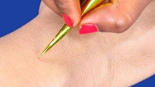 Very Pretty Mehndi Design for Hands | Jewellery Bridal Mehndi Design for Hands @ ekunji #098