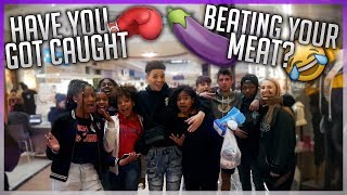 HAVE YOU EVER GOT CAUGHT BEATING YOUR MEAT 😭🍆 | PUBLIC INTERVIEW