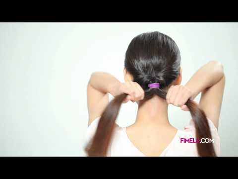 Romantic Low Bun Hairstyle