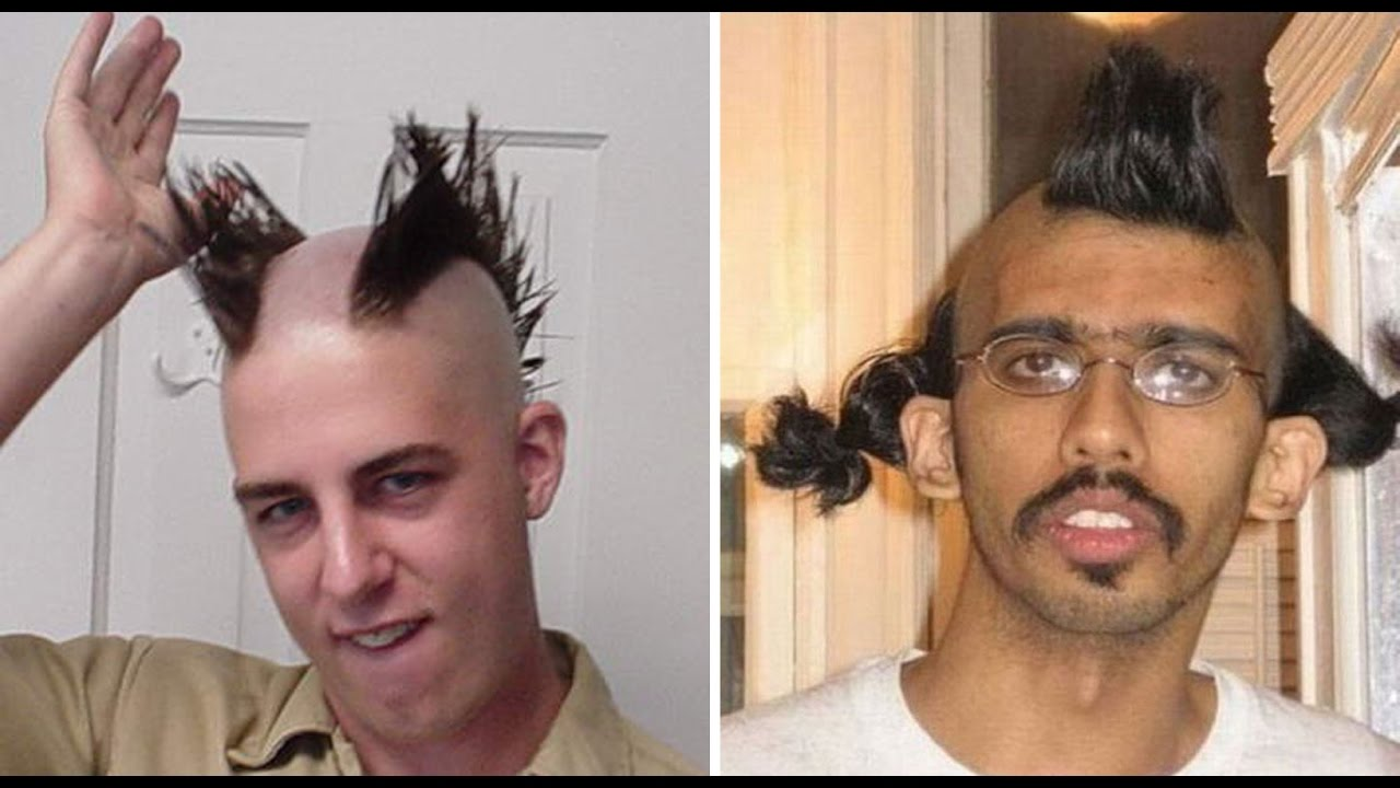 funny hairstyle & craziest
