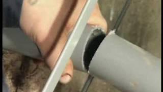 видео Сантехника: трубы пластиковые и оптимальные диаметры для канализации, фитинги и инструменты для их соединения