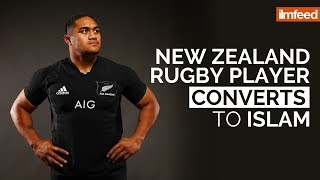 New Zealand Rugby Player Converts to Islam