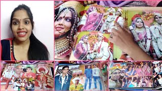 My wedding picture album meri sadhi photo album