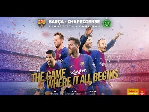 Barcelona Vs  Chapecoense AF Live HD