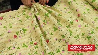Обзор ткани Рогожка от магазина ДАМАРАДА.