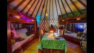 Winter Yurt camping Afтon State Park Minnesota outdoor campfire cooking