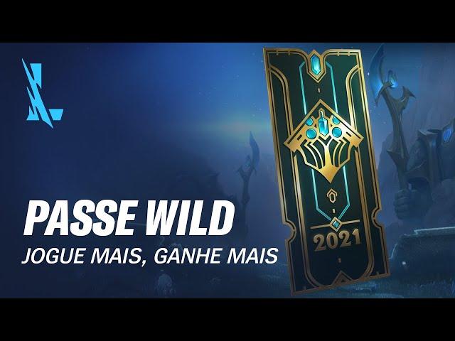 Jogue Mais, Ganhe Mais | Passe Wild – League of Legends: Wild Rift