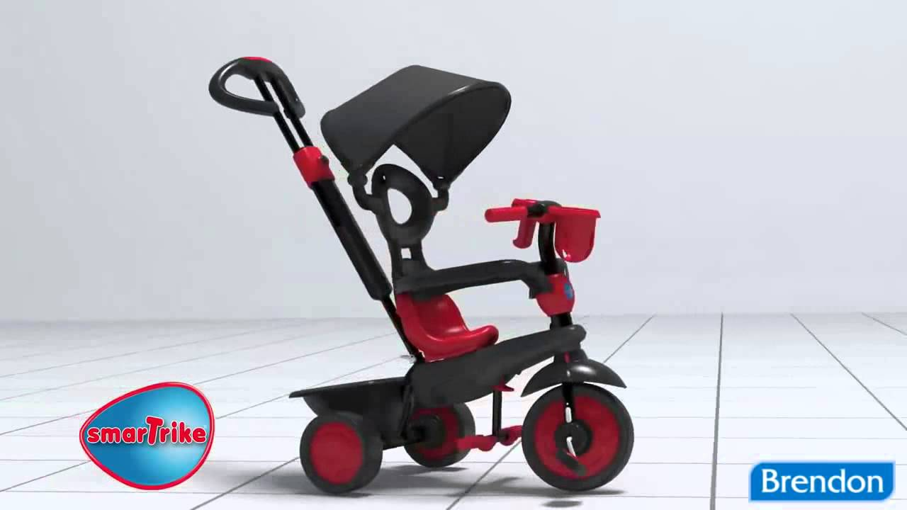 smart trike boutique red smartrike boutique 4 in. Black Bedroom Furniture Sets. Home Design Ideas