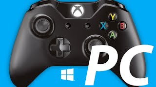 How to Connect Setup Xbox One Controller with a PC windows10 8.1 win 8 7 Vista Elite controller