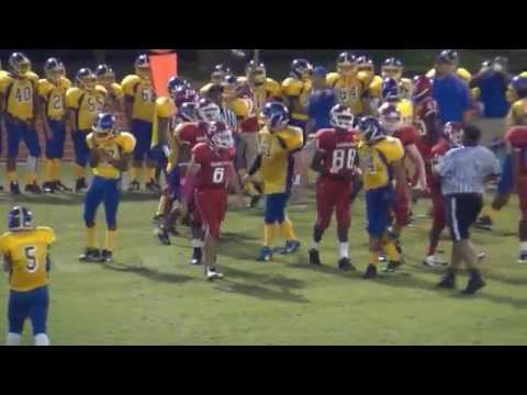 Ben West Highlights vs. Brame Jr. High 2014