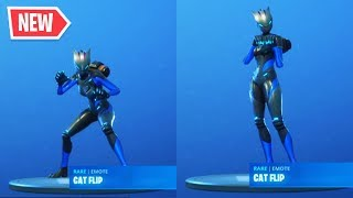 "'NOUVEAU' LYNX ""CAT FLIP"" EMOTE sur TOUS les SKINS! Fortnite Saison 7 Lynx Challenges Reward Showcases Fortnite Saison 7 Lynx Challenges Reward Showcases Fortnite Saison 7 Lynx Challenges Reward Showcases"