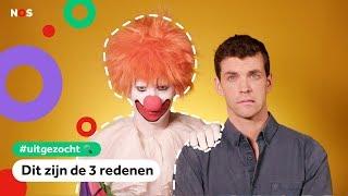 Waarom zijn mensen bang voor clowns? | UITGEZOCHT #3