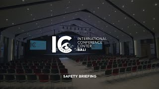 International Conference Center Bali | Safety Briefing | Videographer