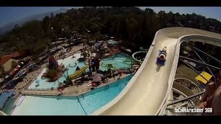 [HD POV] High Extreme Water Slide - Tallest Water Slide - Raging Waters