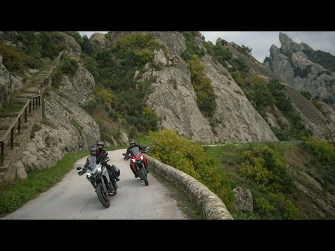 Ducati Multistrada 950   Your Extraordinary Journey – Lucanian Dolomites