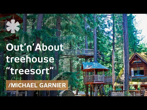 DIY treehouse inventor creates Ewok world in rural Oregon
