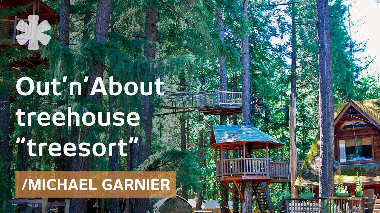 diy treehouse inventor creates ewok world in rural oregon youtube - Biggest Treehouse In The World 2016